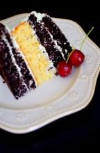 Rustic Pistachio Choclolate Vanilla Layer Cake-015