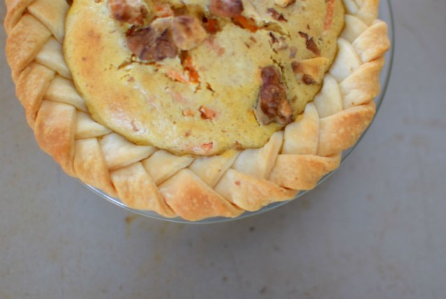 Spiced Carrot Cheesecake Pie-023