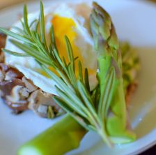 Wild Mushroom Asparagus Poached Egg-011