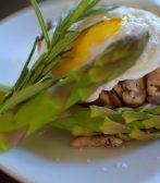 Wild Mushroom Asparagus Poached Egg-012