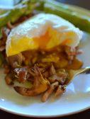 Wild Mushroom Asparagus Poached Egg-015