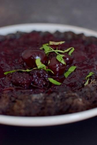 Chocolate Cherry Berry Tiara Cake-017