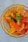 Spicy Lemon Tomato Broth Poached Shrimp-006