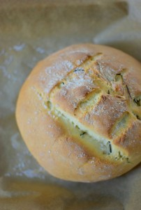 Salted Rosemary Olive Oil Bread-006