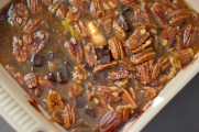 Chocolate Bourbon Pecan Pie Bars-013