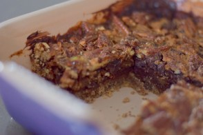 Chocolate Bourbon Pecan Pie Bars-022