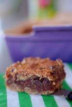 Chocolate Bourbon Pecan Pie Bars-025
