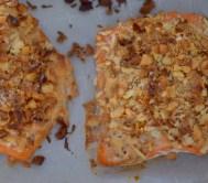 Peanut Horseradish Macadamia Crusted Salmon-006