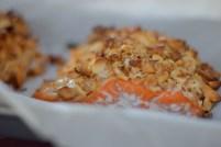 Peanut Horseradish Macadamia Crusted Salmon-007