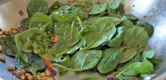 wilted spinach salad3