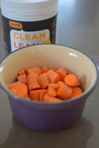 Carrot Protein Pancakes