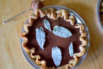 Chocolate Mint Julep Pie-020