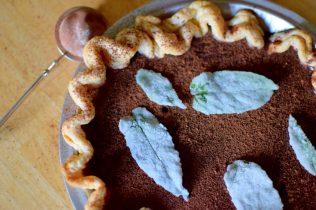 Chocolate Mint Julep Pie-023