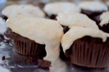 Strawberry Frosted Chocolate Cupcakes-010