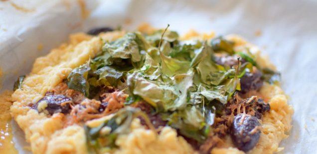 Gluten Free Italian Bruschetta Pie-003