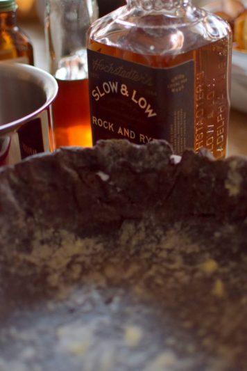Maple Pumpkin Chocolate Bruleed Pie-009