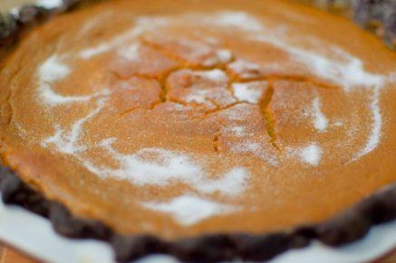 Maple Pumpkin Chocolate Bruleed Pie-017