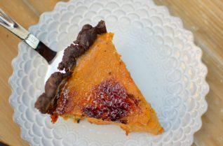 Maple Pumpkin Chocolate Bruleed Pie-028