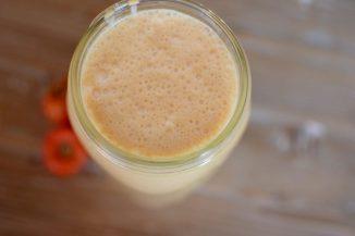 Nuzest Vanilla Pumpkin Spice Peanut Butter Smoothie-006