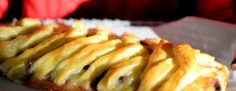 Cranberry Triple Cream Braid-007