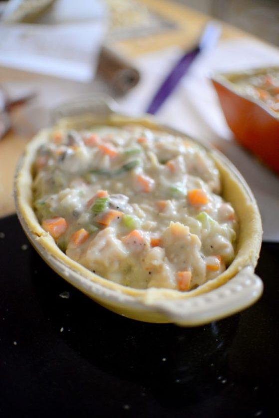 Chicken Mushroom Pot Pie-005
