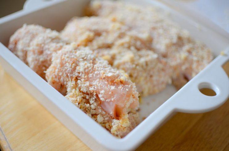 Baked Dijon Chicken Cordon Bleu-008