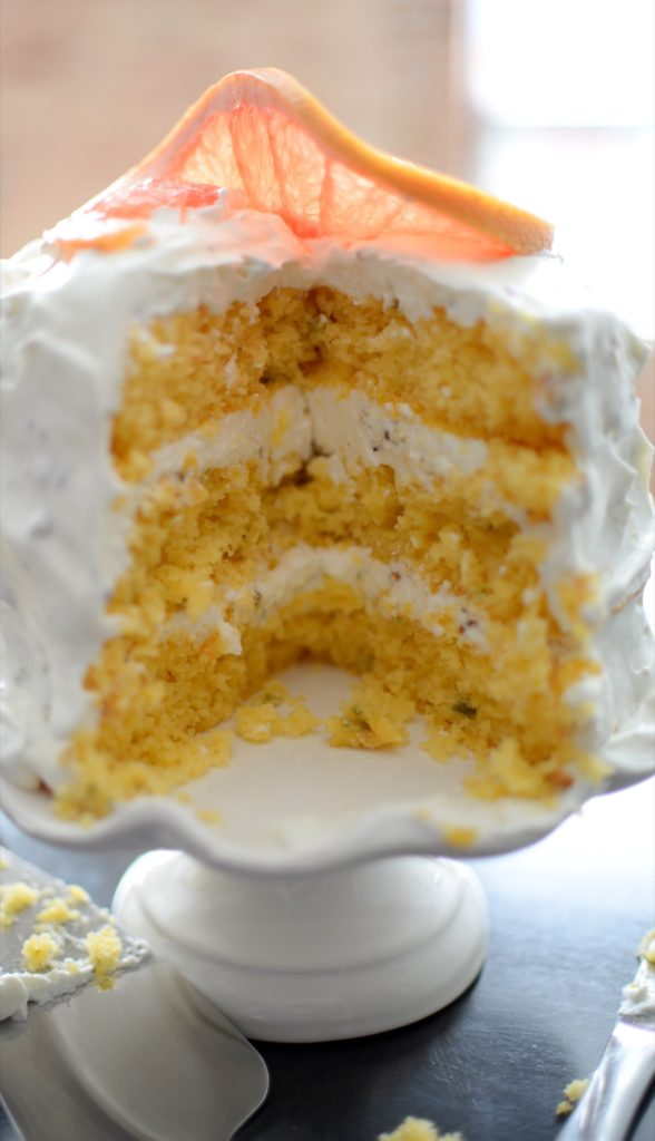 Grapefruit Sage Vanilla Cake & Pistachio Chantilly-018