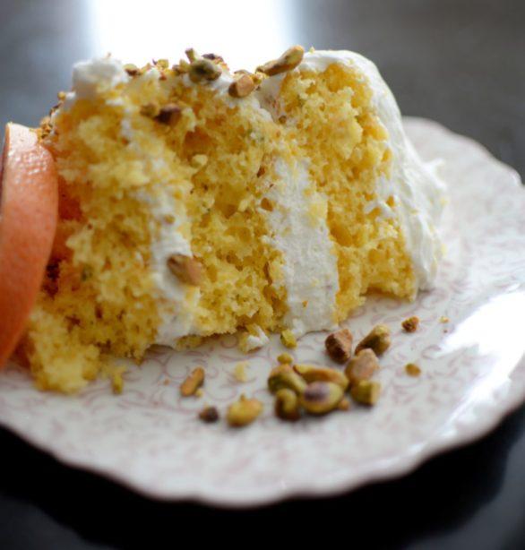 Grapefruit Sage Vanilla Cake & Pistachio Chantilly-020