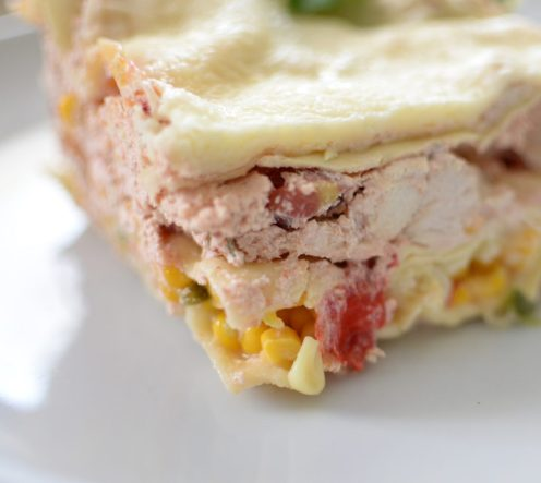 Spicy Chicken Mexican Lasagna-012