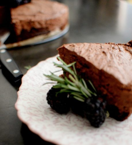 Triple Chocolate Blackberry Rosemary Silk Cake-022