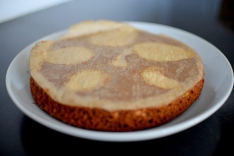 Espresso Chocolate Pear Cardamom Cake-009