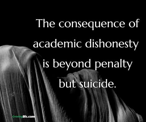 Academic dishonesty and how to avoid penalty