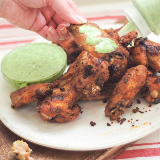 Peruvian Chicken Wings | Cravings & Crumbs