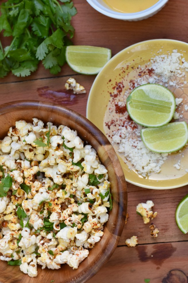 Chile Lime Popcorn | Cravings & Crumbs