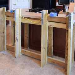 Kitchen Island With Bar Outdoor Pergola Diy Breakfast Frame Built To An Existing We Wanted Add A The And Make It Bigger