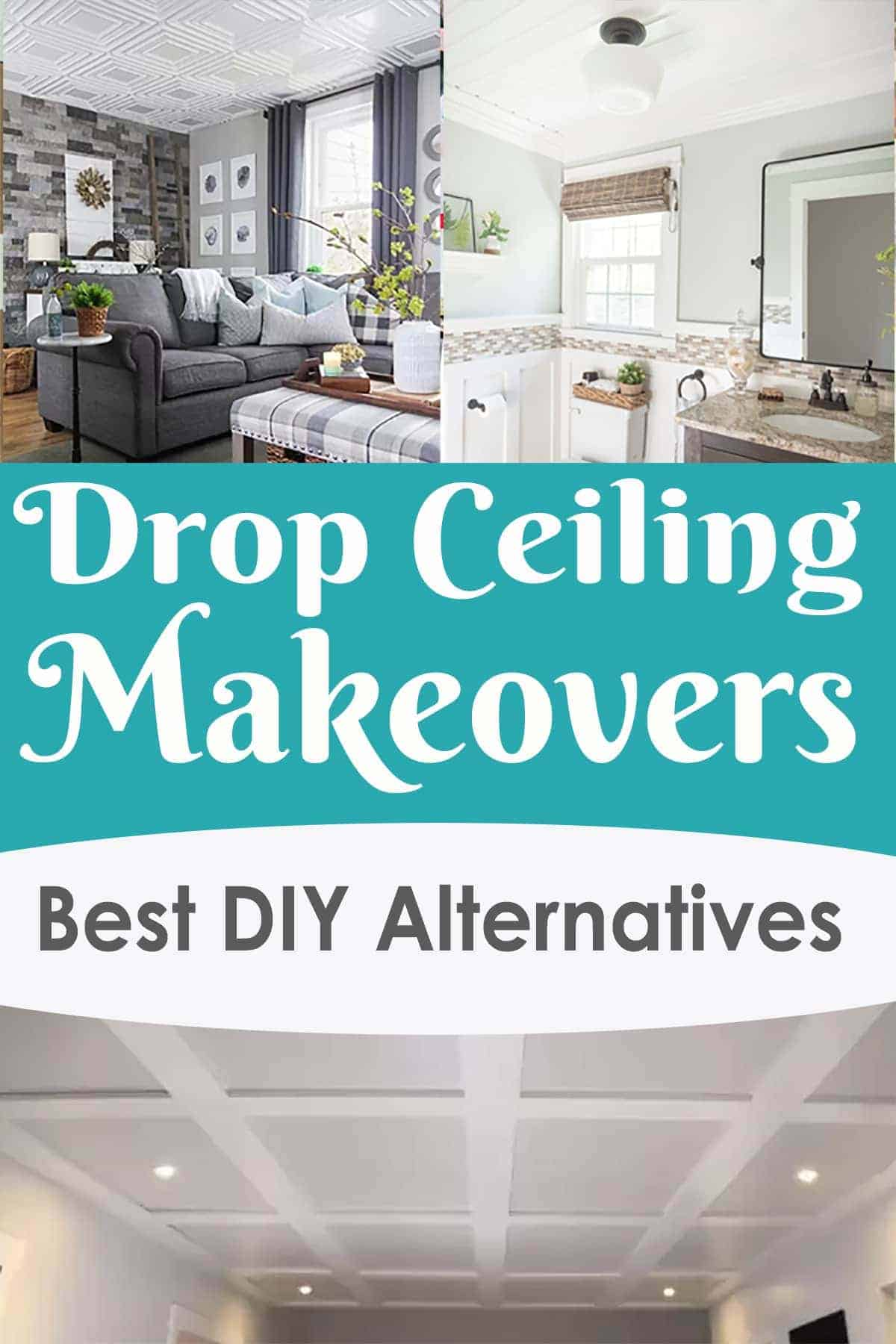 modern drop ceiling ideas to love