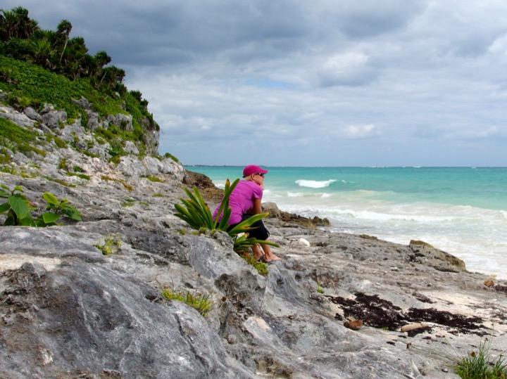 Tulum Beach Jill