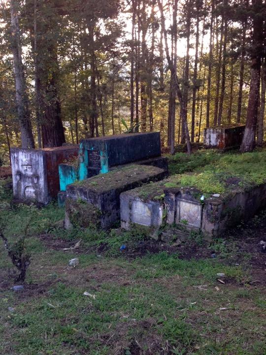 Cuban church cemetery