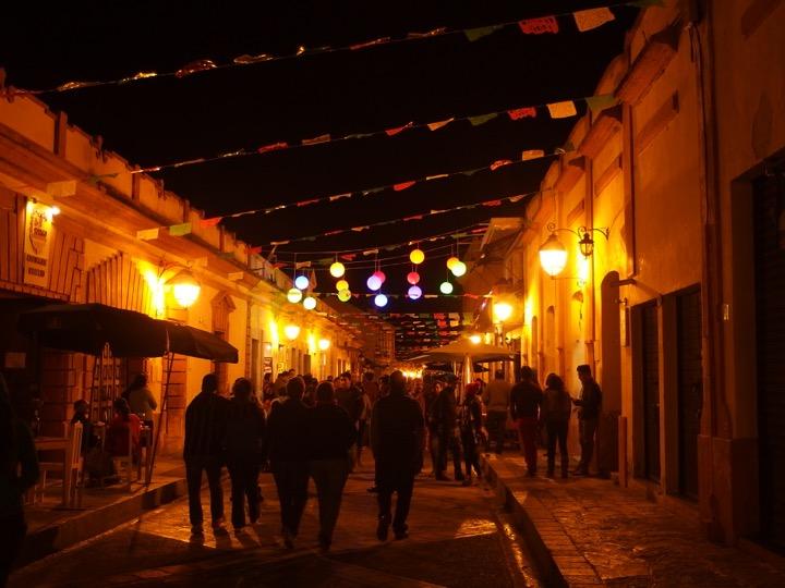 San cristobal pedistrian street
