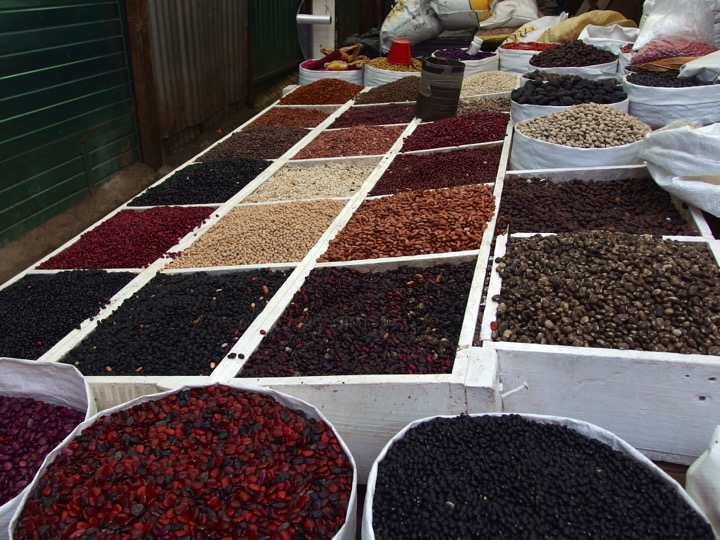 Bean in Mexican Market