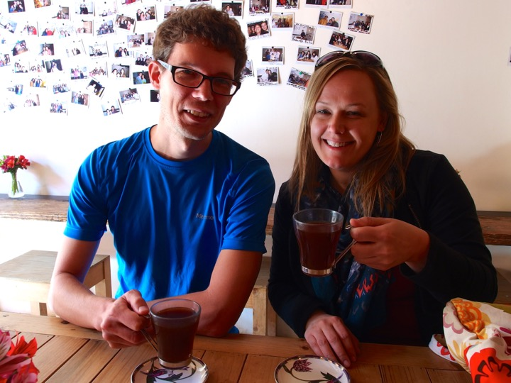 Martin and Amy and Coffee