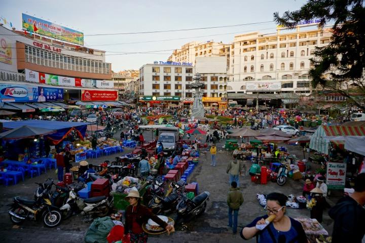 Market in Da Lat