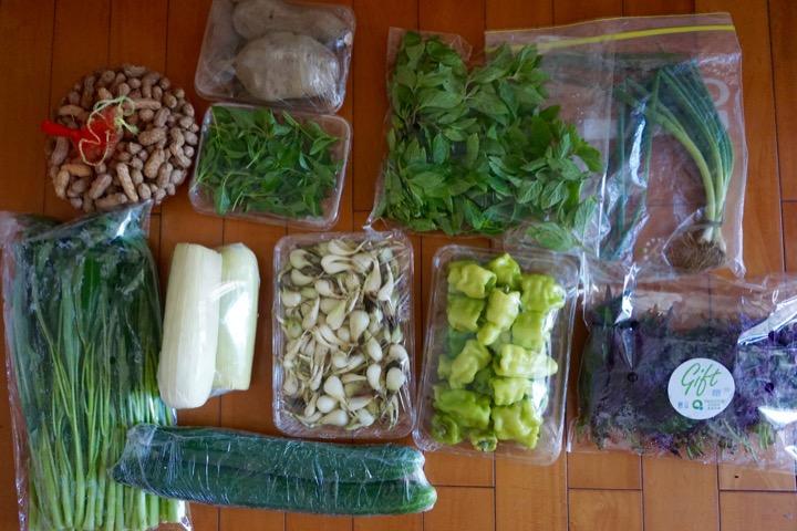 CSA Veggies Shenzhen