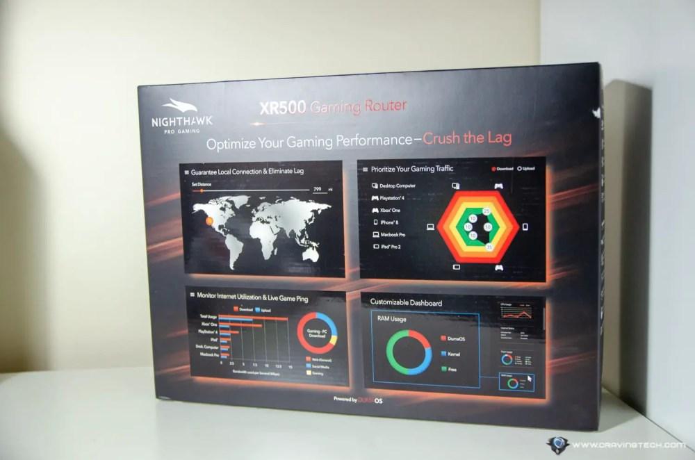 medium resolution of netgear nigthhawk pro xr500 gaming router packaging netgear nigthhawk pro xr500 gaming router packaging