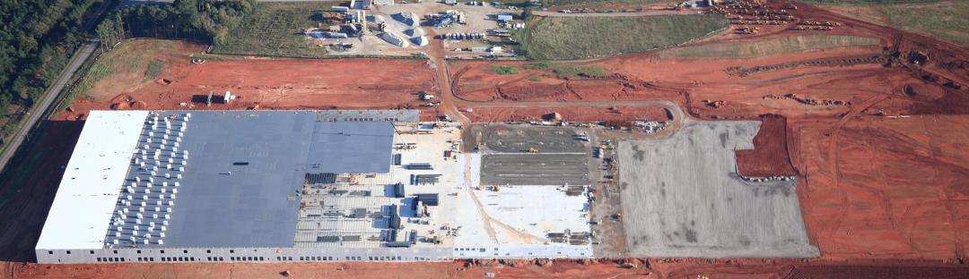 Atlanta Construction Progress Aerial Photography