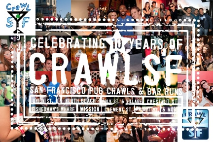 The CrawlSF Season Pass: Your key to San Francisco Events and Pub Crawls in 2012