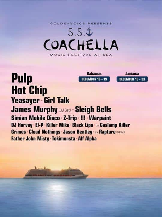 Coachella Party Boat