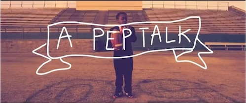 Video Pep Talk Kid President