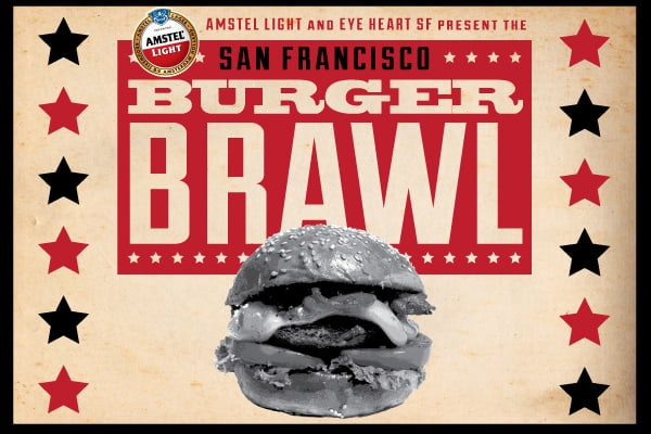 The Best Burger in San Francisco will be crowned at The Burger Brawl at Fort Mason