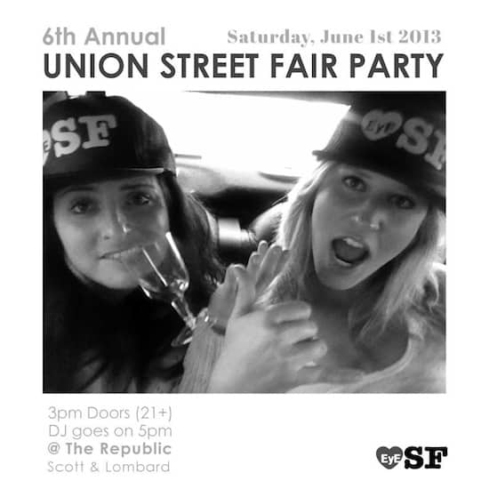 Union Street Fair After PArty